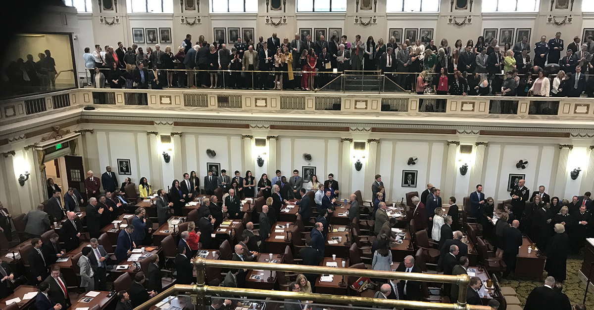 Stitt gives State of the State and fails to acknowledge tribal sovereignty