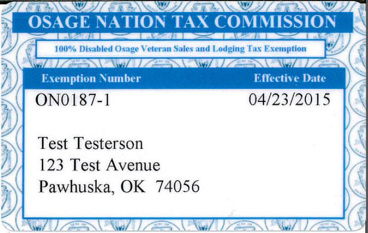 Sales and lodging tax exemption cards now available for disabled veterans
