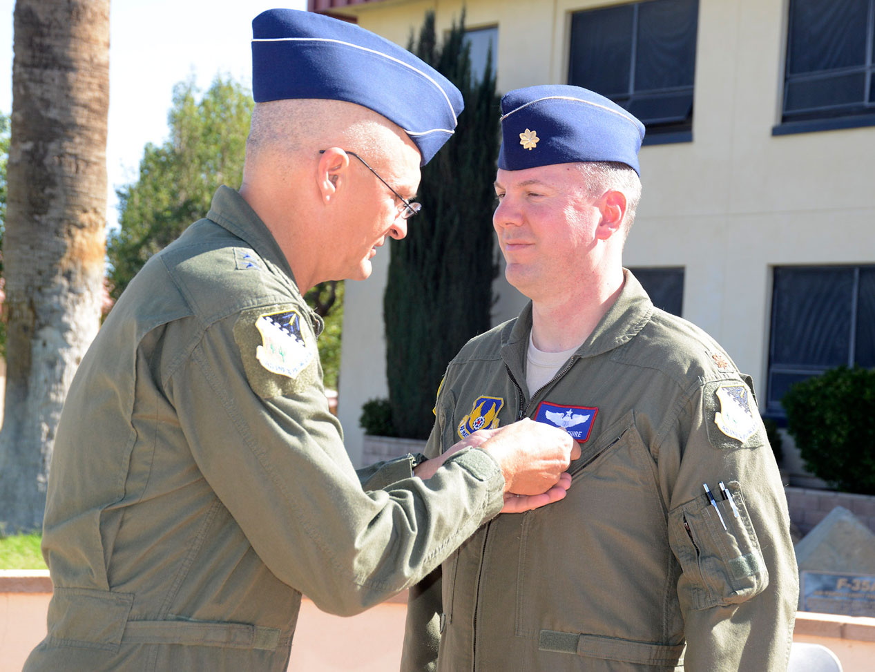 Osage major awarded two Air Medals from U.S. Air Force