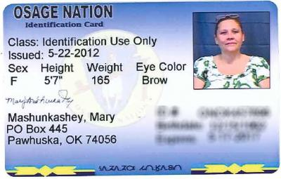 Osage Tax Commission now offering photo ID cards