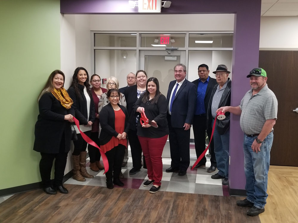 Osage Nation officials celebrate ribbon cutting for new Tulsa WIC Clinic