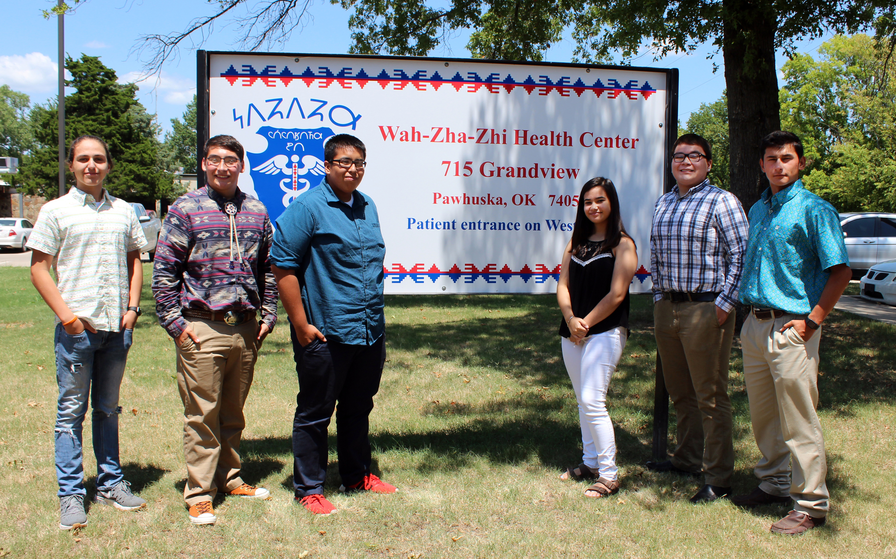 Six Osage youth take part in inaugural Health Career Scholarship