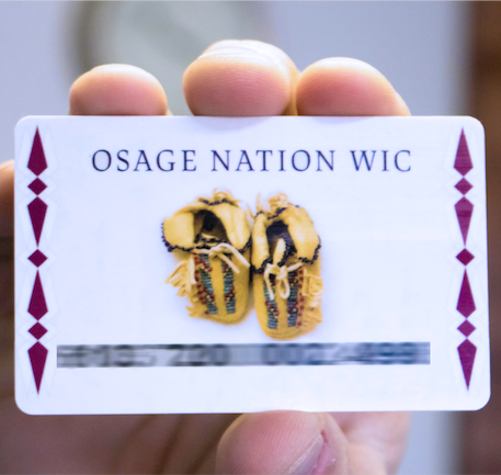 Osage Nation WIC now offering EBT cards