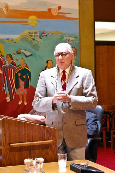 Walter Echo-Hawk asks ON Congress to help expand TU Indian law program