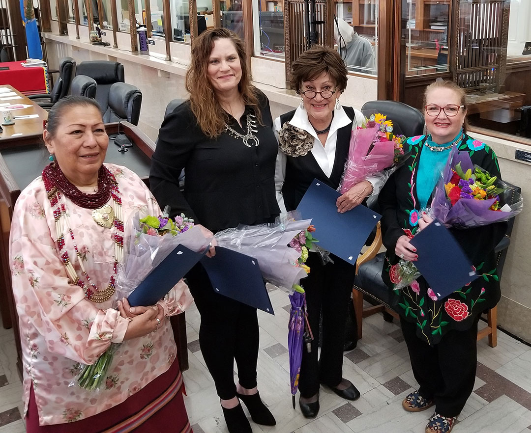 Osage Congress honors four former Osage National Councilwomen
