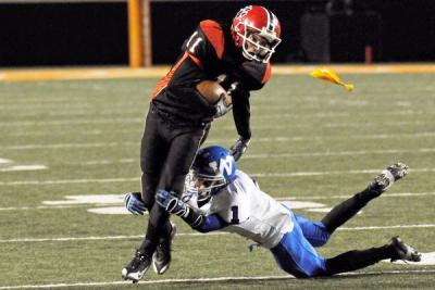 Woodland Cougars win Class A State football championship in overtime