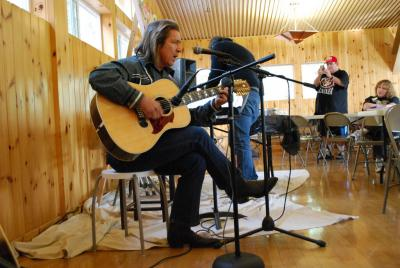 Artists featured at Northern California Osage meeting