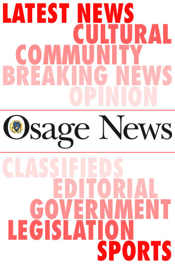 Osage Congress passes resolution supporting hazard mitigation plan