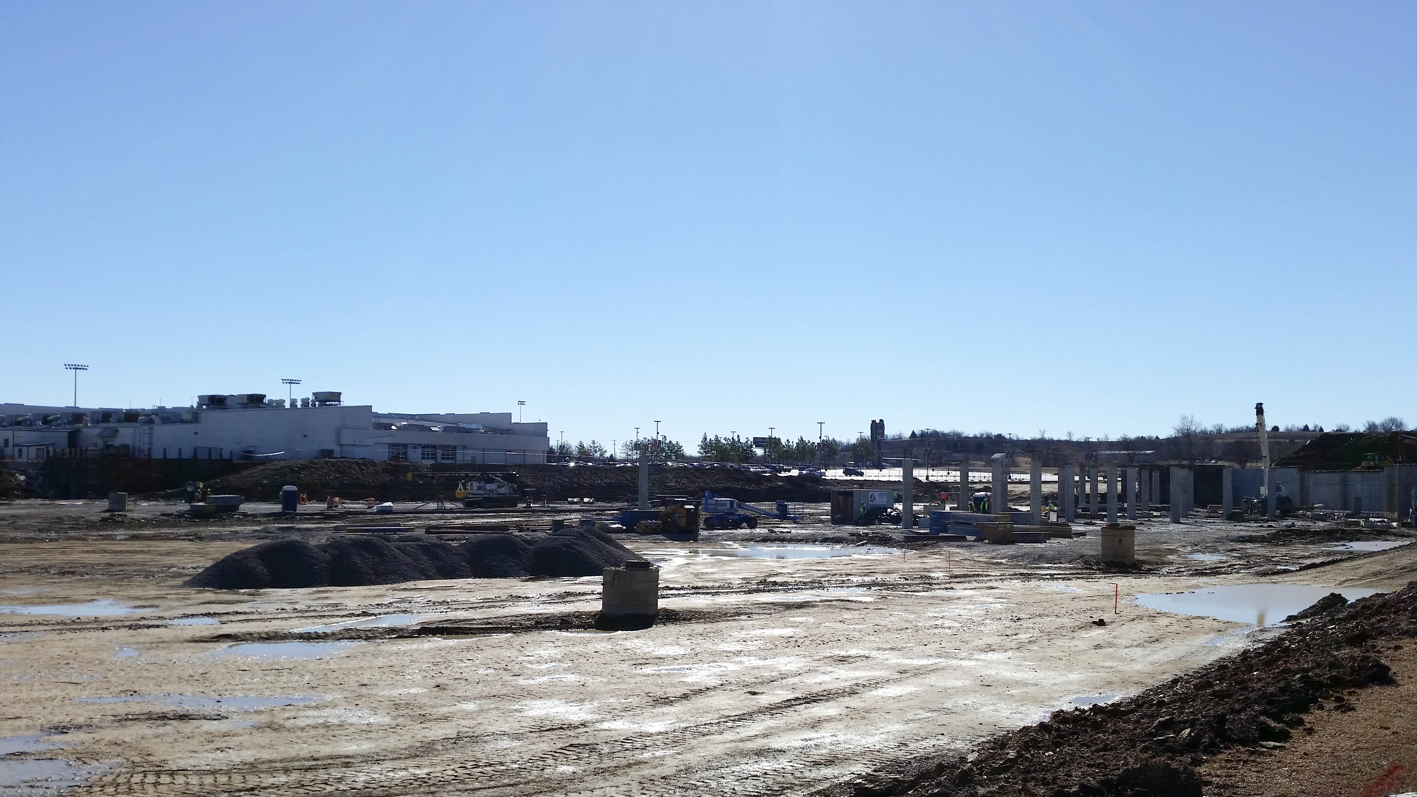 Online: Photos and video of Tulsa Osage Casino construction