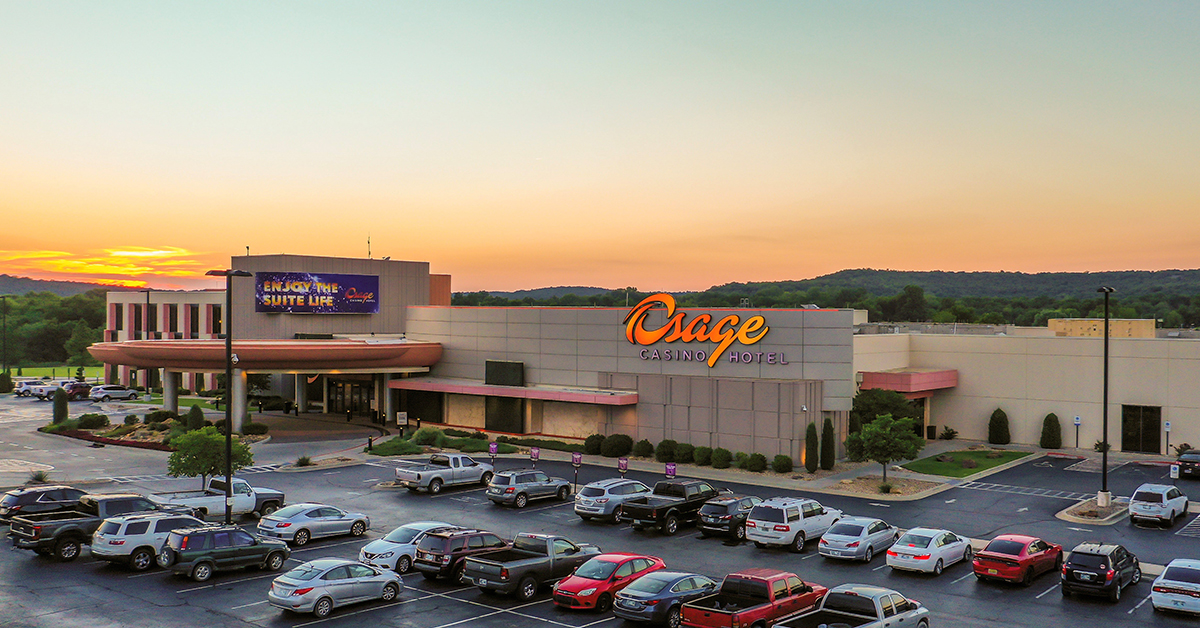 Osage Casino Hotel is a welcome retreat during the hot summer months