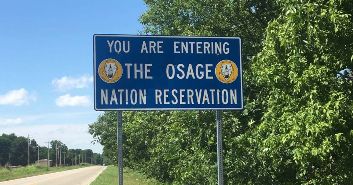 Standing Bear: 'The Osage Reservation remains intact'