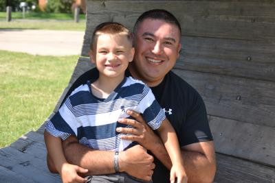 Native father quits chew for son and for health