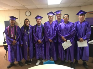 Osage Seniors receive gifts from the Osage Nation Education Department