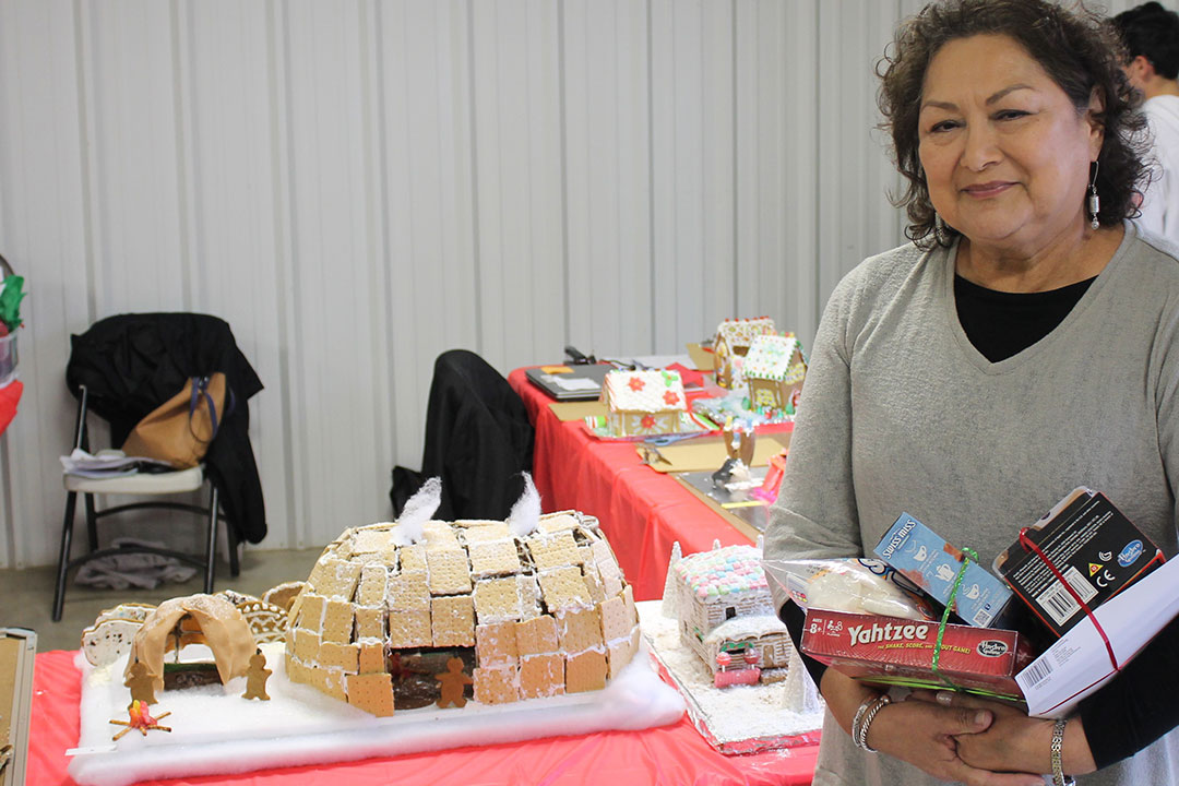 Winners for the 4th Annual STEAM Christmas Candy House Competition