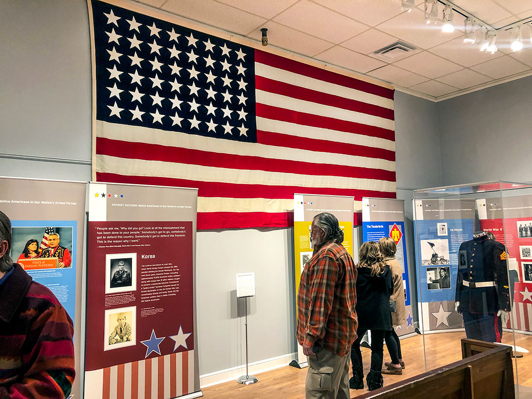 'Patriot Nations' exhibit on display at Osage museum through June 12