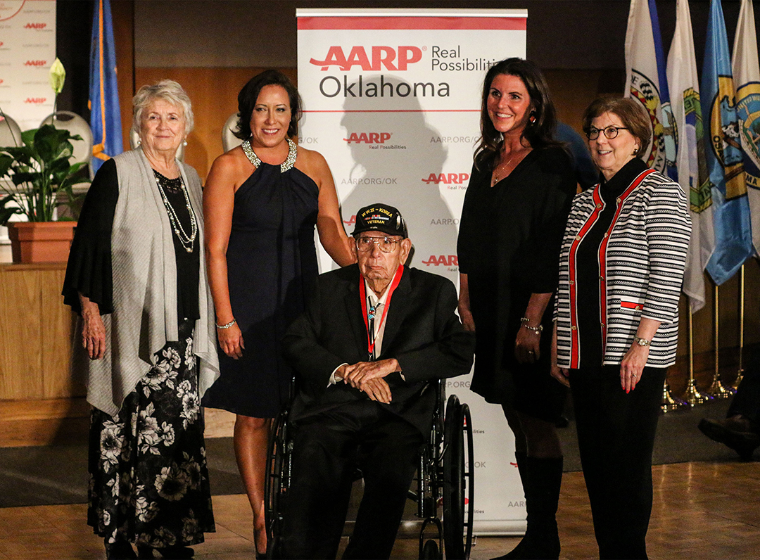 AARP honors two Osages at Indian Elder Honors' 10th Anniversary