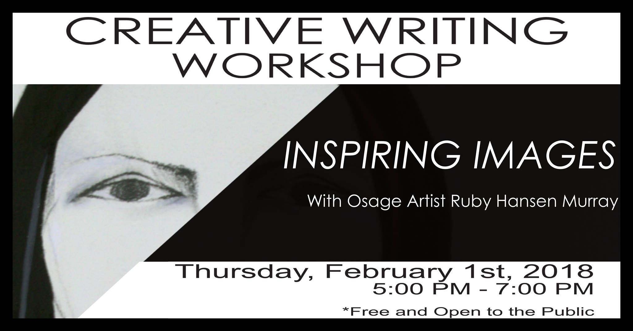 Creative writing workshop scheduled Feb. 1 at ON Museum