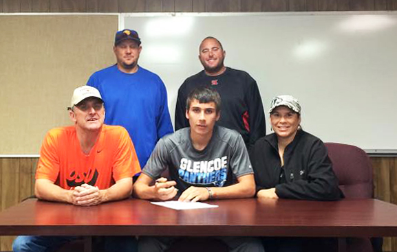 Hadlock to play baseball for Northern Oklahoma College Enid