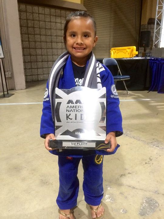 Osage places second in her division at National Jiu-Jitsu Championship