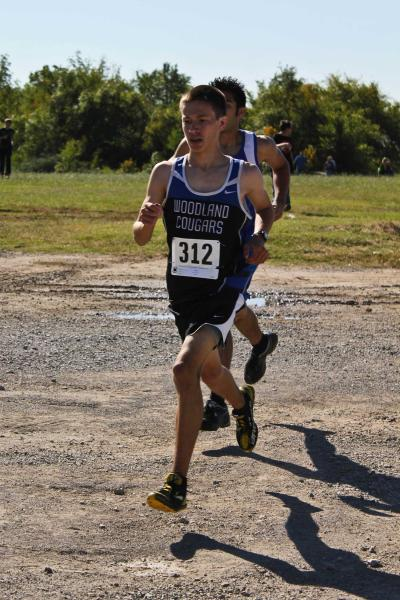 Woodland's Rogers finds his voice in running