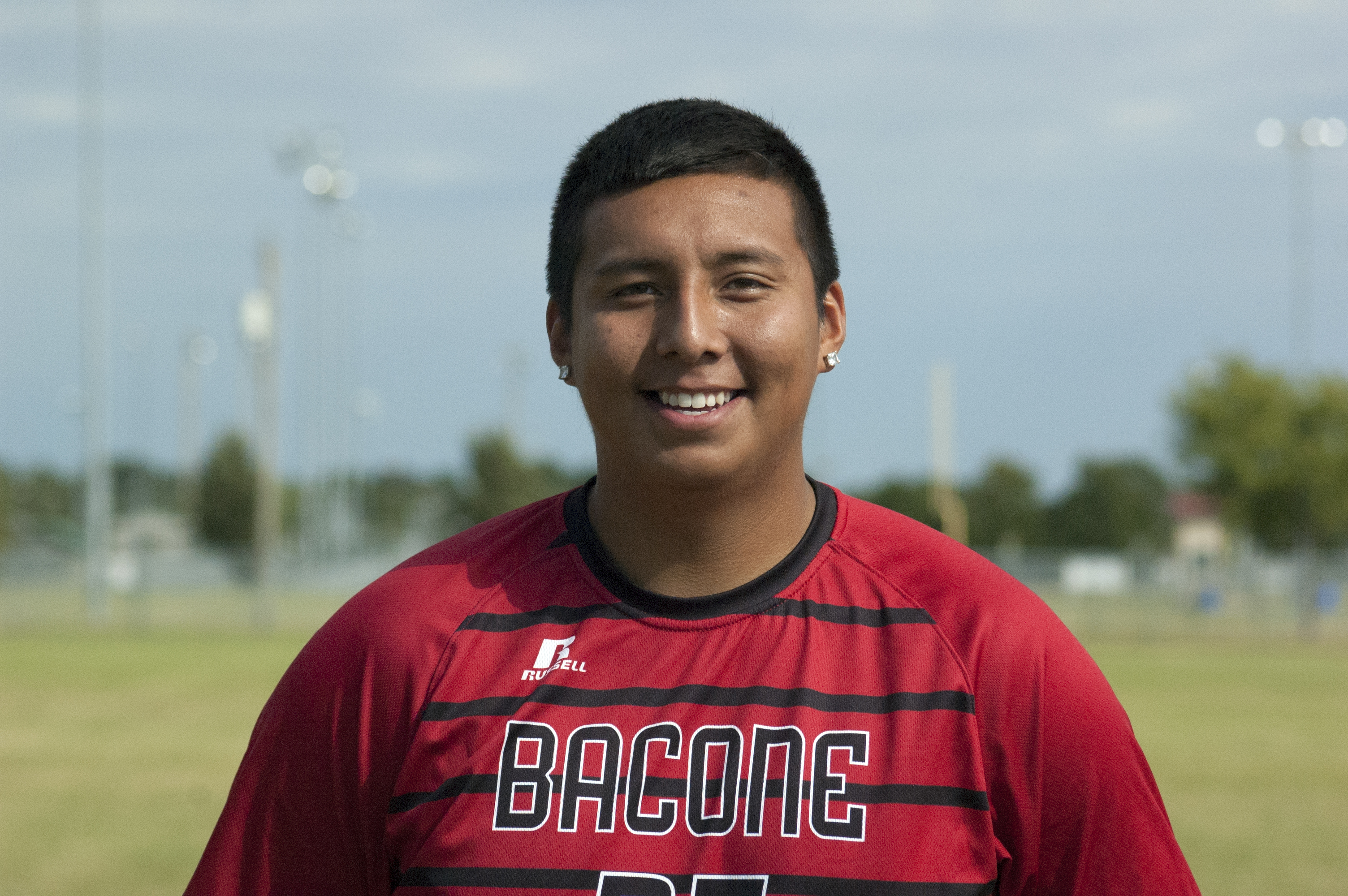 Basketball and soccer at Bacone College has helped Hight reach his dreams
