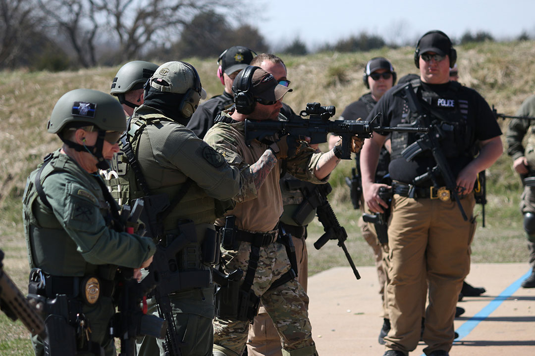 ONPD hosts training for Osage County Tactical Response Team