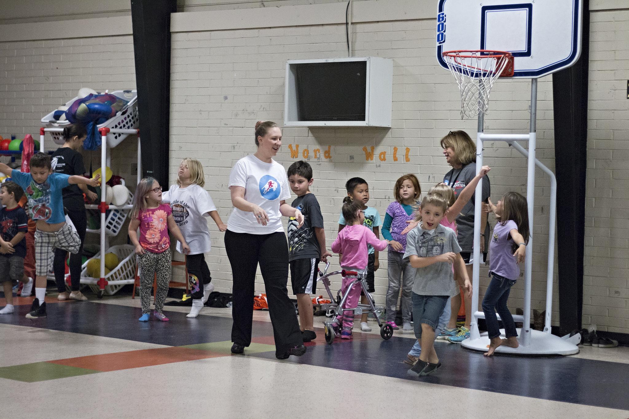 Smith takes ballet to area elementary schools