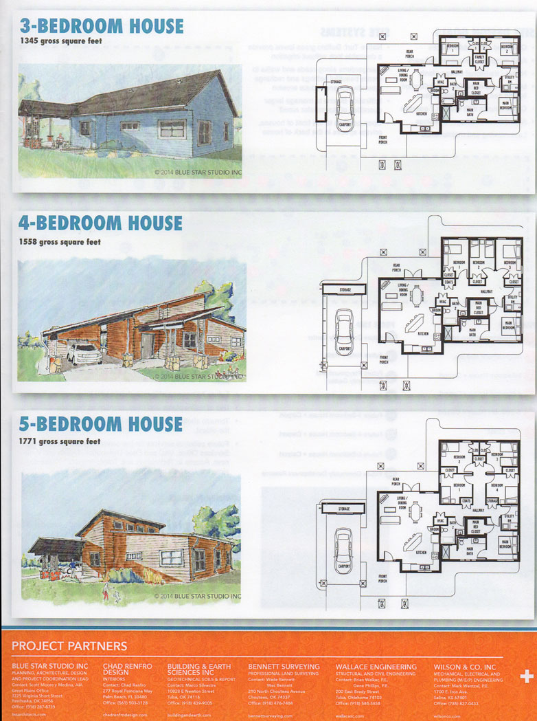 Osage Nation and design professionals discuss Skiatook housing plans