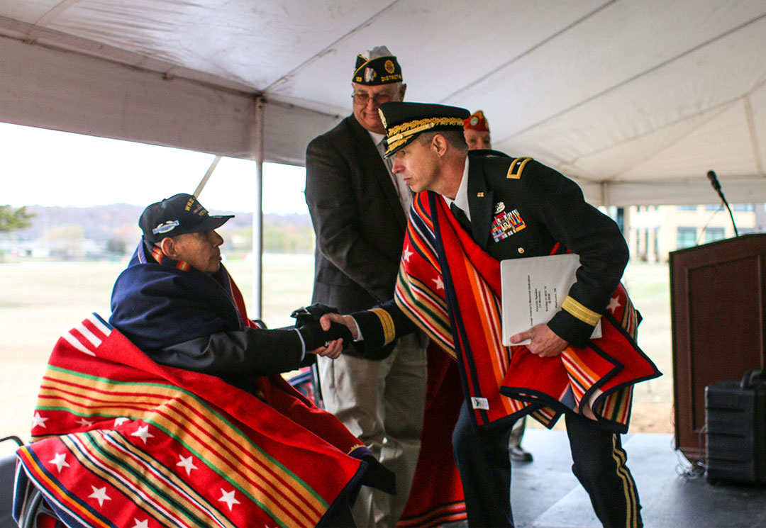 Osage veterans honored at Osage Veterans Memorial dedication