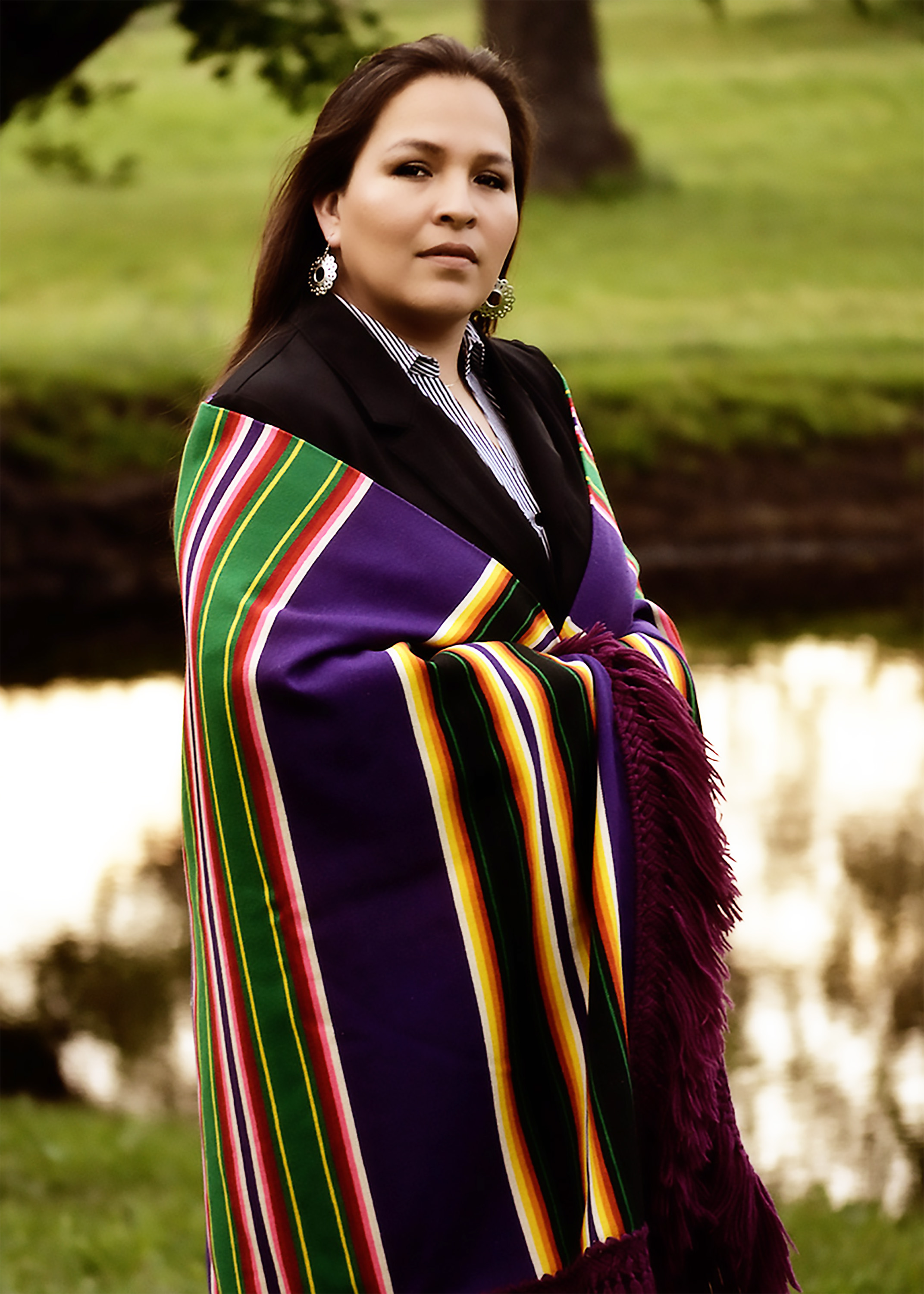 W. Jacque Jones announces her candidacy for the Fifth Osage Nation Congress