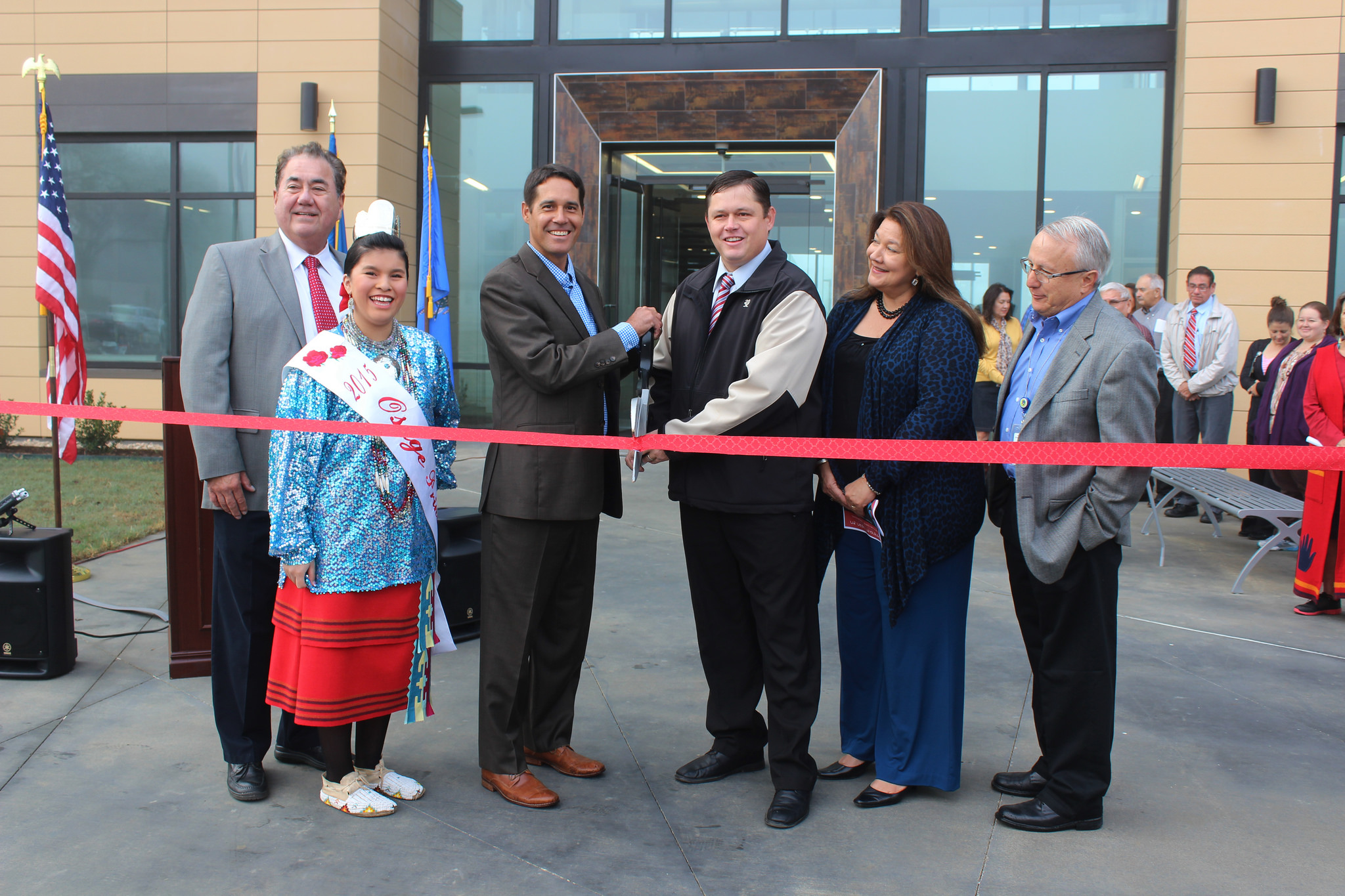 New Osage Nation campus buildings unveiled on Nov. 2
