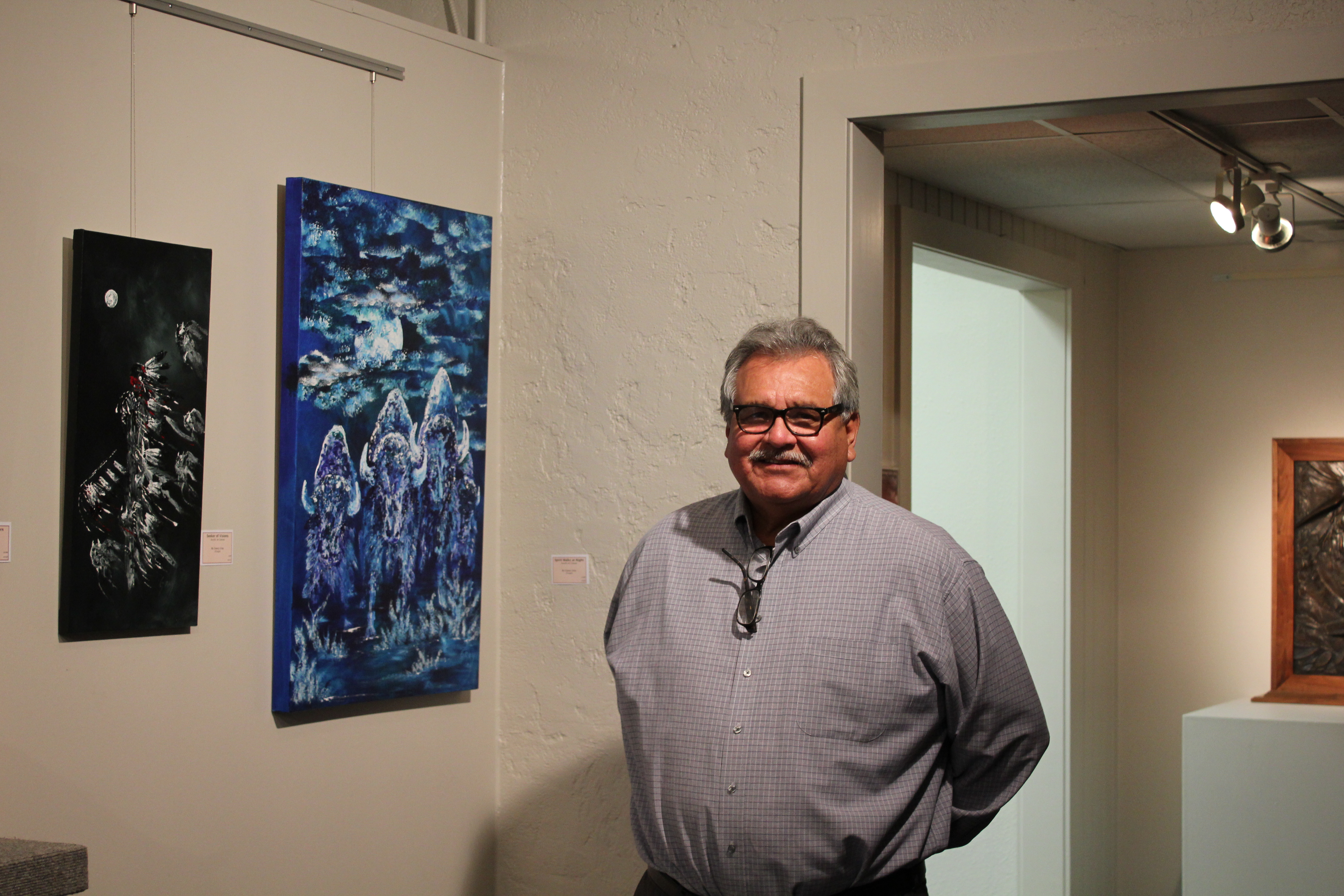 Osage artist featured in Red Earth exhibit in Oklahoma City