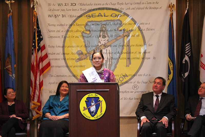 Osage dignitaries share what 'sovereignty' means to them