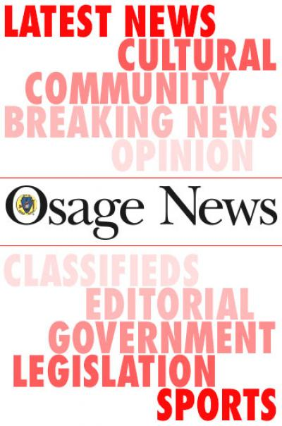 Letter To Osage News Reader