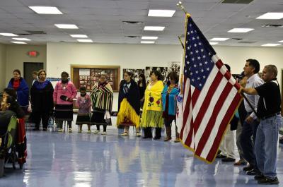 Osages celebrate Veterans Day 2013