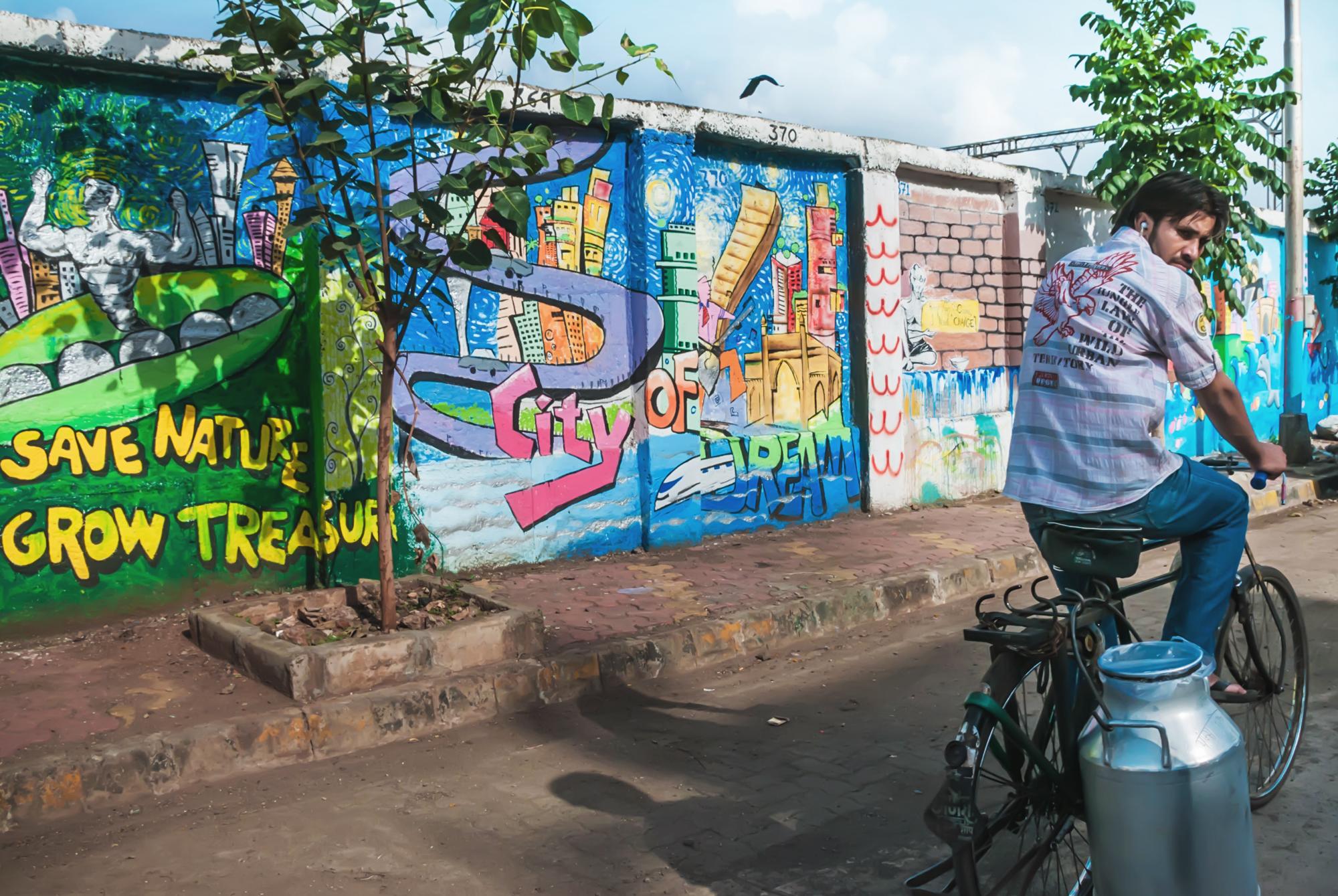 & The Mumbai Wall Project Street Art in India