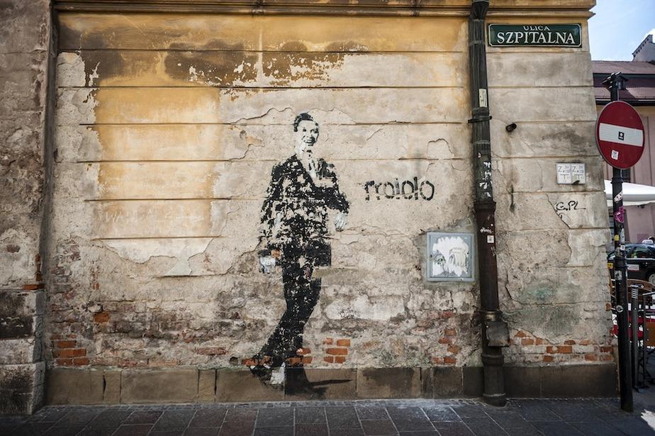 Street Art In Krakow Poland