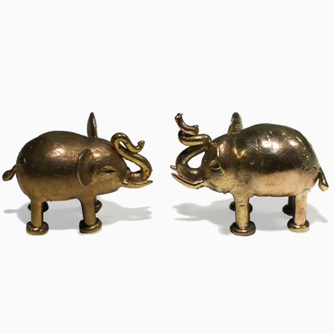 Solid Brass Esono Figurines