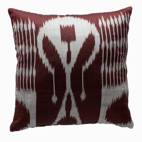 Hickory Ikat Pillow