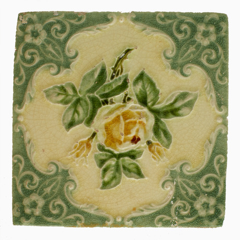 Citra Antique Art Nouveau Tile