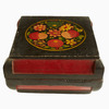 Fruit & Flowers Hand-Painted Wooden Box