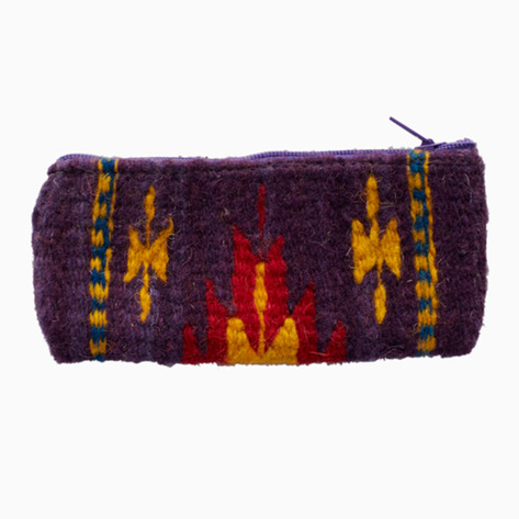 Sunset Zapotec Woven Change Purse