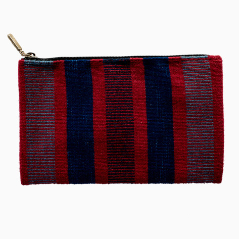 Red & Blue Oaxaca Striped Purses