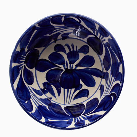 Blue & White Hidalgo Ceramic Bowls