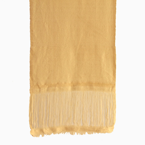 Champagne Linen Table Runner