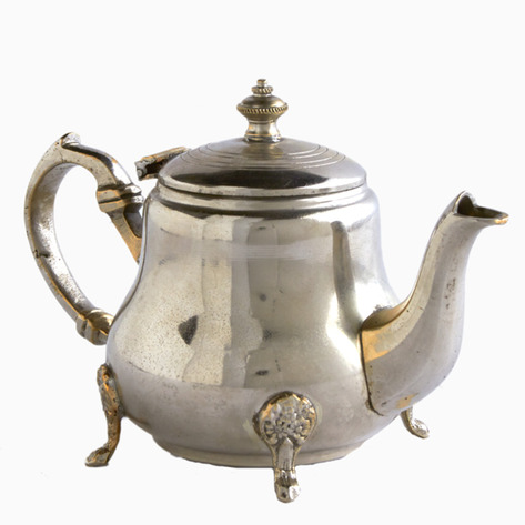 City Reflections Silver Moroccan Teapot