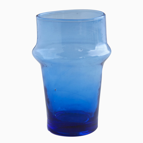 Atlantic Blue Moroccan Tea Glasses