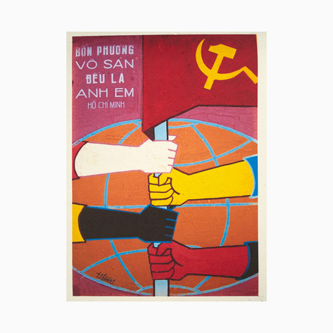 Proletarians of the World are Brothers Poster