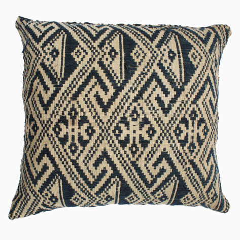 Indigo Diamond Tai Pillow