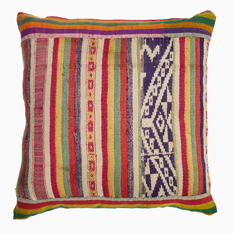 Colorful Vintage Tai Pillow